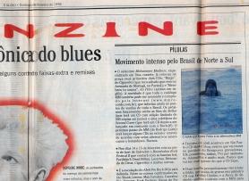 """Members to Sunna"" @ Rio Fanzine, 1997, jornal O Globo"