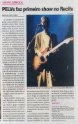 Pelvs plays in Recife for the 1st time, opening for Teenage Fanclub