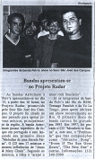 Pelvs @ São José dos Campos, Jornal Gazeta Mercantil
