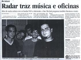 Pelvs @ São José dos Campos, Jornal Vale Paraibano