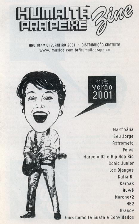 Pelvs @ Humaitá Pra Peixe fanzine